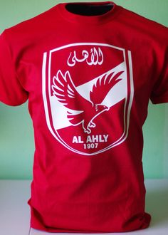 This is really all I want other than some $$ to continue to save up for another trip to Egypt/a car. I want the white one, size medium.  Al Ahly of Egypt Soccer Football T shirt by FutbolFootballSoccer, $17.99