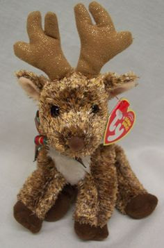2ff39cfe2c4 TY Beanie Baby ROOFTOP THE REINDEER 6