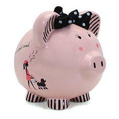 Miss Madeleine Piggy Bank
