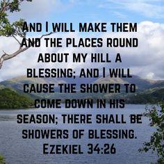 Ezekiel 34:26 KJV
