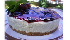 Cheesecake de Cerejas - http://www.sobremesasdeportugal.pt/cheesecake-de-cerejas/