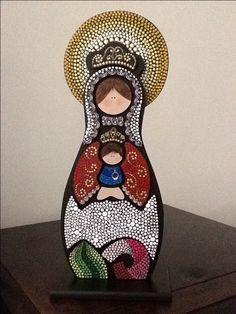Virgen Nuestra Señora de Coromoto, elaborada por AV