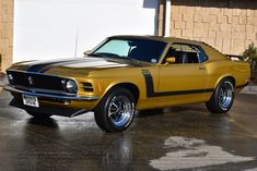 Bid for the chance to own a Restored 1970 Ford Mustang Boss 302 at auction with Bring a Trailer, the home of the best vintage and classic cars online. Ford Mustang Boss, Mustang Fastback, Mustang Cars, Shelby Gt500, Ford Mustangs, 1973 Mustang, Classic Mustang, Ford Classic Cars, Classic Cars Online