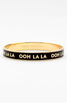 kate spade new york 'idiom' bangle available at #Nordstrom