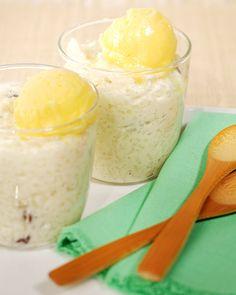 Jasmine Rice Pudding - Martha Stewart Recipes. Sounds divine.