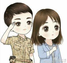 253 Best Dots Chibis Images Song Joong Ki Drawings Descendants