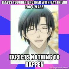 Takahiro Takashi... fail. (Junjou Romantica) SERIOUSLY THOUGH LIKE REALLY NII SAN REALLY?!
