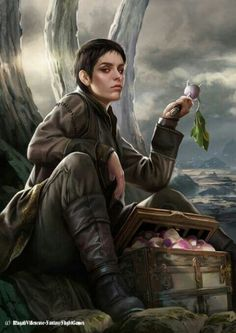 ~Asha Greyjoy by Magali Villeneuve~