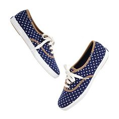 Polka-Dot Sneakers / Keds for Madewell