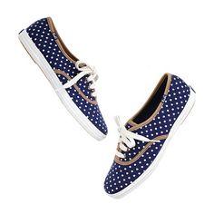 Polka-Dot Sneakers / Keds for Madewell