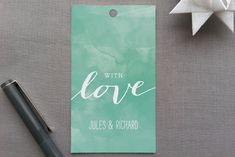 Beach Bohemian Gift Tags by Laura Hankins at minted.com