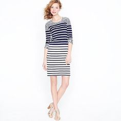 Perfect, striped Parisian chic via Joseph Altuzarra for @JCrew -got it in store (best place to check out designer pieces, sold out online!) #shopping #fashion #style