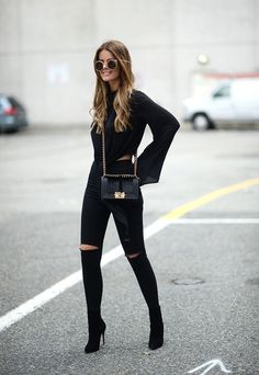 All black everything.