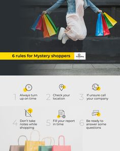 Already work as a mystery shopper? Follow 6 simple rules!