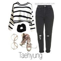 To School Outfit korean Clothing ideas on korean fashion outfits 346 - Clothing ideas on korean fashion outfits 346 - Korean Fashion Kpop Bts, Kpop Fashion Outfits, Mode Outfits, Teen Fashion, Casual Outfits, Girl Outfits, Korean Outfits Kpop, Fashion Ideas, Korean Outfits School