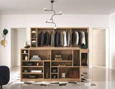Un dressing dans un espace dédié Dressing En Kit, Dressing Rooms, Casual Chic, Dressings, Furniture, Cher, Closets, Armoire, Home Decor