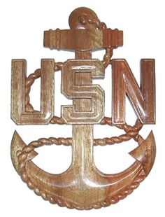 CPO Plaque US Navy