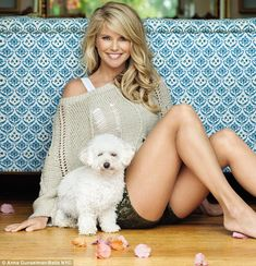 christie brinkley magazine covers | They could be sisters! Christie Brinkley, 59, poses with lookalike ...