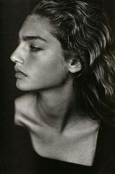 #black & #white #woman #portrait