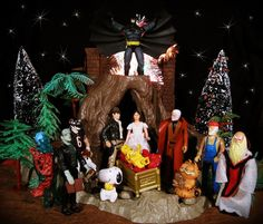 Alcohol Nativity Amusements Dec Pinterest Scene - Hipster nativity set reimagines the birth of jesus in 2016