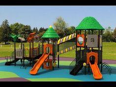 40 original Backyard Playground Ideas for Kids Backyard Playground Sets, Playground Slide, Playground Design, Playground Ideas, Outdoor Fun For Kids, Backyard For Kids, Kid Friendly Backyard, Kindergarten Design, Kids House
