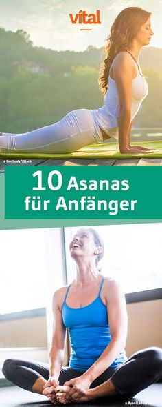 Yoga für Anfänger – die 10 einfachsten Asanas Are you looking for a way to let go of the stress of everyday life, to return to harmony and relaxation? Then these yoga figures are. Yoga Fitness, Physical Fitness, Sport Fitness, Iyengar Yoga, Ashtanga Yoga, Yoga Routine, Yin Yoga, Yoga Meditation, Yoga Inspiration