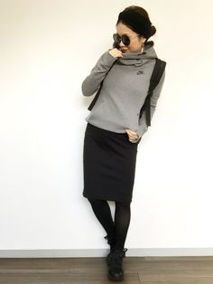 Pin by Liu Christine on Wearing in 2020 Future Fashion, Work Fashion, Modest Fashion, Daily Fashion, Fashion Outfits, Womens Fashion, Fashion Trends, Simple Outfits, Casual Outfits