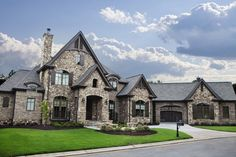Brick And Stone Exterior Design Ideas