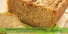 Zucchini bread is a delicious type of quick bread that is sweet and moist. The primary ingredient in zucchini bread is of course zucchinis, but you can also add various other ingredients. Many people like to add dried cranberries, orange zest, or cinnamon to make the bread spicy. Many chefs agree that zucchini bread is a great recipe for beginner cooks because it is so easy to make.    Enjoy a slice of zucchini bread today sitting by your cascading water fountain from…
