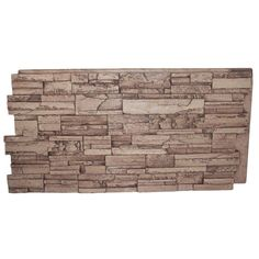 Superior Building Supplies Faux Grand Heritage 24 in. x 48 in. Stack Stone Panel - The Home Depot - Home Improvements - Superior Building Supplies Cinnamon 24 in. x 48 in. Stacked Stone Panels, Faux Stone Panels, Faux Stone Siding, Tennessee, Stone Veneer Panels, Dry Stack Stone, Decomposed Granite, Wood Panel Walls, Decorative Panels