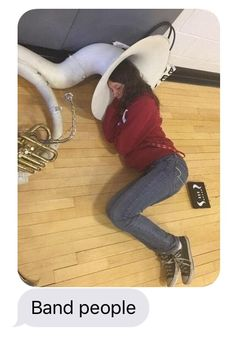UM NO ANY BAND STUDENT WOULD KNOW BETTER THAN TO DO THAT TO THEUR TUBA