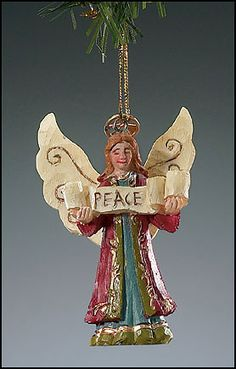 Peace Angel Ornament