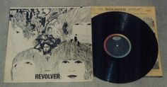 The Beatles Revolver LP, Capitol Records T-2576, mono version of album. Record is in EX condition, , LP cover is in VG condition: little front cover w... #mono #capitol #record #revolver #beatles