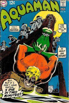 Cover by Nick Cardy from Aquaman published by DC Comics, March ->Enjoy unbelivable collection of bdsm cartoon pics-> Dc Comic Books, Vintage Comic Books, Comic Book Artists, Vintage Comics, Comic Book Covers, Comic Artist, Marvel Comics Superheroes, Fun Comics, Aquaman Comics