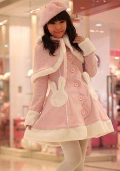 Pink Lolita coat for little girls.  http://www.my-lolita-dress.com/