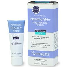... neutrogena healthy skin anti wrinkle spf 15 rated 4 1 5 on makeupalley ...