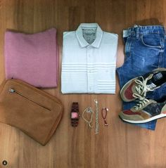 Look with #ColorTextureSport sneakers by Gioseppo @elarmariodeyisus