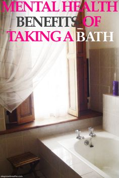 Fighting anxiety or depression? Take a bath and see the many mental health benefits.