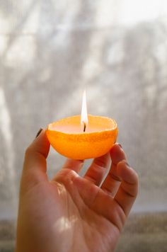 Learn how to make your own citrus candles that are perfect for winter. You only need a few supplies to get started!