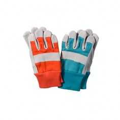 Children's gloves for digging and allotment gardening