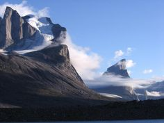 this is Mt. Thor on Baniff Island in Nunavut, Canada