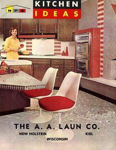 Vintage kitchen 1962 from retrorenovation