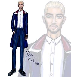 Zayn Malik at the Valentino SS16 Menswear show PFW