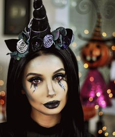 Best representation descriptions: Dark Unicorn Halloween Costume Related searches: 10 Year Old Unicorn Costume Makeup Ideas,DIY Unicorn Cos. Dark Unicorn Costume, Unicorn Halloween Costume, Diy Halloween Costumes, Halloween 2019, Halloween Ideas, Costume Ideas, Unicorn Outfit, Unicorn Party, Maquillage Halloween Simple
