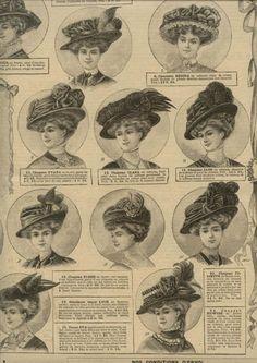 1908 hats