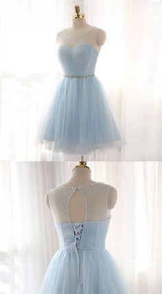 Elegant Sweet 16 Cocktail Dress,Tulle Short Prom Dresses,Charming Homecoming Dresses,Homecoming Dresses