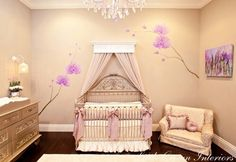 Baby girls room sooo pretty
