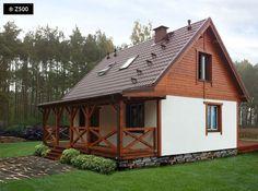 Drewniana elewacja domu. Ciekawe pomysły