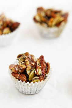 This post for Salted Vanilla Maple Nut and Seed Clusters is sponsored on behalf of Fisher Nuts. All opinions are my own. Earlier this year I shared our family's 15 Things in 2015 list. Puff Pastry Appetizers, Appetizer Recipes, Snack Recipes, Health Recipes, Pasta, Candy Recipes, Sweet Recipes, Sweet And Salty, Healthy Snacks