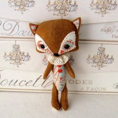 Sooo Cute—Woodland Fox pdf Pattern Instant Download by Gingermelon on Etsy